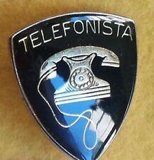 DISTINTIVO METALLO TELEFONISTA ESERCITO ITALIANO VECCHIA SPILLA PIN ITALIAN ARMY