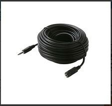 "50 FT 3.5mm Extension Audio 1/8"" Male to Female Headphone Cable Speaker MP3 50FT"