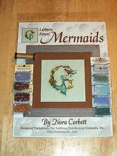 Nora Corbett LETTERS FROM MERMAIDS LETTER G Pattern, Beads, Kreinik MIRABILIA