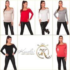 Feine taillenlange Damen-Pullunder-Stil ohne Verschluss