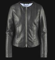 BOMBOOGIE JW RABY Damen Lederjacke Jacke Leatherjacket schwarz black NEU ETIKETT