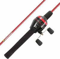 "Youth Fishing Rod and Reel Combo- 5'6"" Fiberglass Pole, Spincast for with"