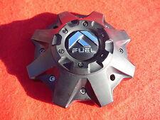 Fuel Wheel Center Cap Flat Black M-447 1001-58 1002-53B-1 M-698 With Spacer
