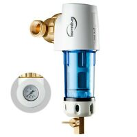 iSpring WSP50GR Reusable Spin Down Sediment Water Filter 50 Micron w/Scraper