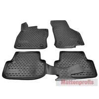 MP Gummimatten Gummifußmatten TPE 3D für VW Golf VII 7 ab Bj.11/2012 - Nov