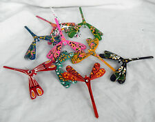 Hand Painted Wooden Balancing Dragonfly - BNWT - Larger Size
