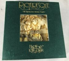 Picturesque Harmony Kingdom Tile Figurine Noah'S Park Glacier Falls In Box