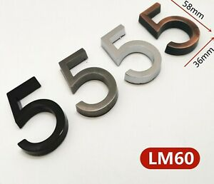 Home Door Number Plaque Signage Plastic Materials House Numbers Plate Decoration