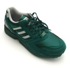 Adidas Men's Originals ZX 8000 Suede Sneakers Collegiate Green/Gray Size 9.5, 11