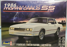 1986 CHEVROLET MONTE CARLO SS  REVELL 1:24 SCALE 2-n-1 PLASTIC MODEL CAR KIT