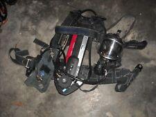 DRAGER AIR BOSS PSS-100 4500 PSI SCBA AIR PAK W/ PANORAMA MASK INT. PASS RADIO