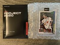 FREE SHIPPING Topps Project 2020 MIKE TROUT #85 Jacob Rochester With Box