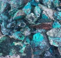 4 ounces Chrysocolla on Matrix Bulk Natural Rough Mineral Specimens