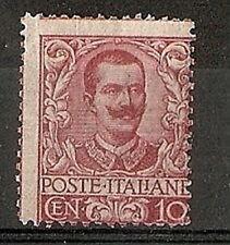 1901 REGNO FLOREALE 10 CENT MH * -  RR7119