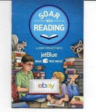 JETBLUE SOAR WITH READING MAGIC TREE HOUSE KIDS ACTIVITY BOOK 2016
