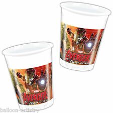 8 Marvel's Avengers 2 Age Of Ultron Superhero Party 200ml Plastic Cups