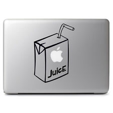 Apple Juice Box for Macbook Air/Pro Laptop Car Window Art Vinyl Decal Sticker