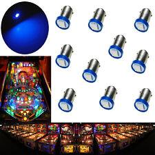 10x #1893 #44 #47 #1847 BA9S 1 SMD LED Pinball Machine Light Bulb Blue 6.3V  USA