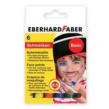 6 trucchi per viso a matita, face paints, truccabimbi, Eberhard Faber vari set