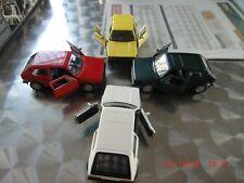 Welly NEX VW GOLF 1 GTI Modellauto NEU  4x er Konvolut Set Oldtimer Kult Selten