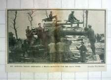 1917 Heavy Howitzer Receiving Morning Service Before Days Work