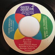 Bobby Lee Trammell & The Jordanaires: I Dare America To Be Great / A Gift 45