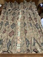 vintage 4 pc window drapes curtains and valances Tapestry Like