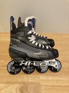 Mission Inhaler AC6 Roller Hockey Inline Skates Rollerblades Size 5E Shoe Size 6