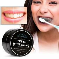 100%ORGANIC ACTIVATED CHARCOAL COCONUT TEETH WHITENING CARBO POWDER NATURAL U9J8