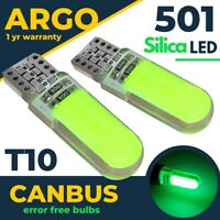 Fits Seat Ateca Led Green Interior Footwell Light Bulbs 2016-On Lamps Bulb 12v