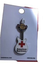 Hard Rock Cafe Orlando American Red Cross Guitar Pin