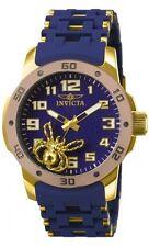 New Mens Invicta 80112 Sea Spider Polyurethane Bracelet Watch