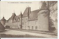CPA-72- Carte postale - LA BOSSE - Château de Montdragon