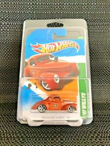 Hot Wheels '41 Willys Treasure Hunt Includes Protector Case