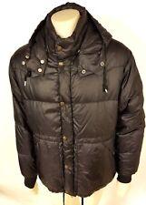 VNTG Polo by Ralph Lauren Mens Ski Snow Black Puffer Hoodie Coat Nylon Jacket XL
