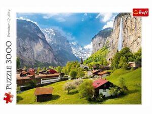 Trefl 3000 Piece Jigsaw Puzzle - Lauterbrunnen, Switzerland