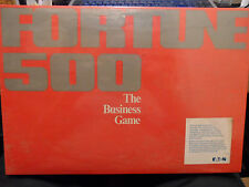 Fortune 500 The Business Game Board Game 1979 Pressman Toy ~ Factory Sealed