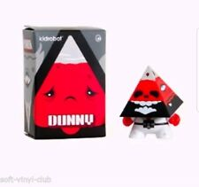 Kidrobot Pyramidun Dunny Red Edition 3-INCH by Andrew Bell