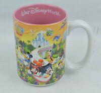 "Walt Disney Theme Parks World Pink 3D Characters ""MOM"" Coffee Cup Mug Thailand"