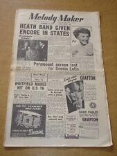 MELODY MAKER 1954 DECEMBER 18 TED HEATH PETULA CLARK PARAMOUNT MARY LOU +