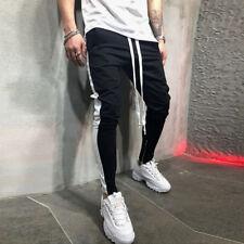 Hombre Casual Deporte Entrenamiento Pantalones Basculador Elástico Ejercicio