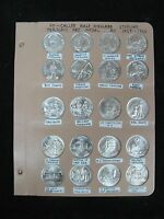 1959-1965 20 So-Called Half Dollars Heraldic Art Medals