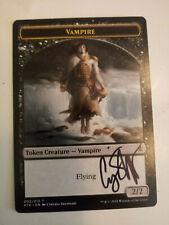 Vampire Token Signed by Cynthia Sheppard MTG Magic the Gathering