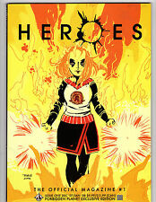 Heroes The Official Magazine #1 Dec 2007/Jan 2008 First Issue Ltd 1000 Copies