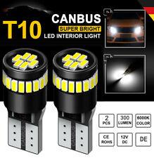 2x CANBUS T10 SMD 21 LED Auto Standlicht Birnen Innenraum beleuchtung Lampen 12V