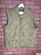 Size XL Orvis Fleece Lined Quilted Vest