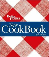 Better Homes Gardens Cookbook 15th Edition Plaid 5 Ring New Hardcover