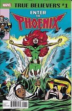 Enter The Phoenix Comic Issue 1 Classic Reprint True Believers 2018 Claremont