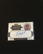 Destin Hood Autographed Miami Marlins Certified Baseball Card