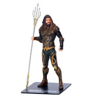 Anime Super Hero League Aquaman 1/10 PVC Figure Statue Toy Gifts New No Box